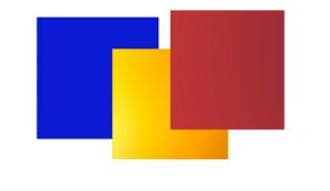 Päävärit sininen - punainen - keltainen